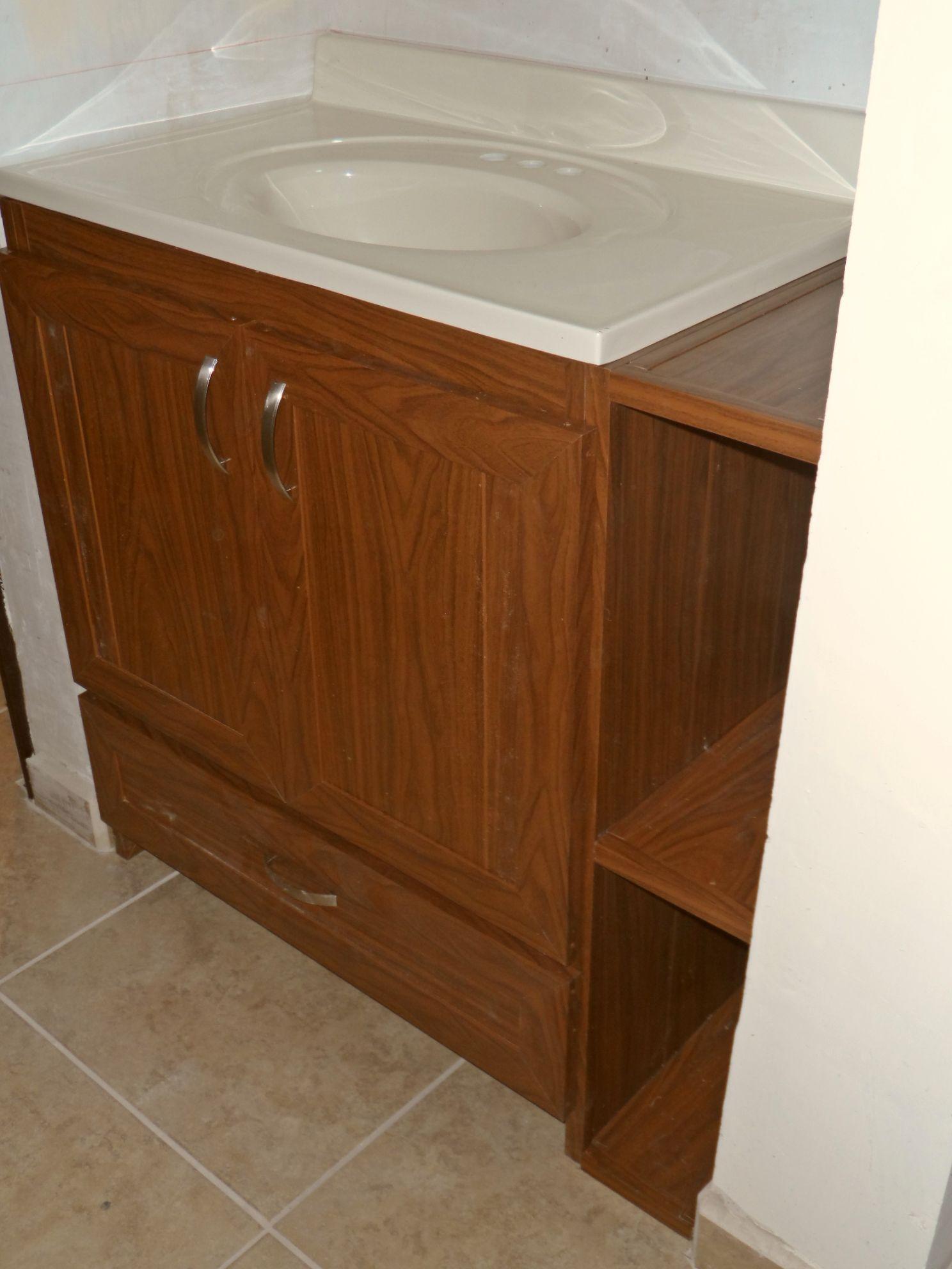 Picture of: Plastic Bathroom Cabinets Rigid Plastic Kitchen Cabinets
